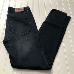 Madewell skinny skinny ankle jeans, NWT size 24